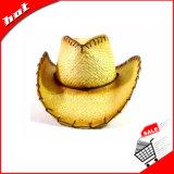Sombrero del papel de paja, sombrero de vaquero