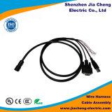 Cables de alambres de encargo del Pin del conector 12