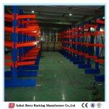 Nanjing submete o Shelving Cantilever do armazenamento de aço do armazém da fábrica