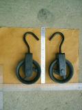 Peint en noir pour corde de chanvre de bloc