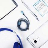 Nylon do USB Kabel de Grau do espaço de nylon micro para Smartphones Android