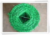 Хорошая колючая проволока качества покрынная PVC гальванизированная