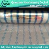 Сырий пеленки цены по прейскуранту завода-изготовителя аттестации SGS лента взрослый прифронтовая с материалами PP
