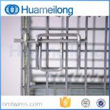 Gabbie logistiche del metallo del magazzino d'acciaio accatastabile
