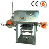 Máquina semi automática del lacre de la calefacción de la mesa
