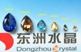 13*18mm mulheres Quente Queda de Cristal Colar Pendente de jóias