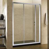 Cercos de vidro pequenos do chuveiro da porta deslizante com vidro Tempered
