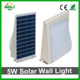Водонепроницаемый чехол для установки вне помещений 5W2835 SMD светодиод солнечной энергии настенный светильник