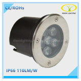 Luz subterráneo redonda del precio de fábrica IP67 LED con la aprobación de Ce/RoHS