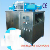 Trockeneis-Maschine führt das Trockeneis CO2 einzeln auf, das Maschine herstellt