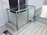 Modern Design Pátio Estrutural Glass Railing / Glass Balustrade Systems para o exterior