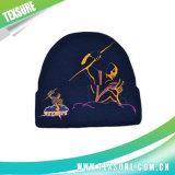 おかしい子供の方法によって平手打ちされる編まれた冬の帽子の帽子(065)