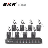 Система конференции микрофона конденсатора K-1008 Bkr беспроволочная