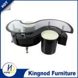 UK горячая продажа стекла S-образный кофейный столик