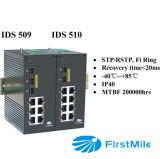 Gigabit beheerde Industriële Ethernet Schakelaar IDS 509/510
