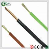 Fio elétrico do condutor de cobre