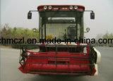 Ceifeira-debulhadora de arroz usada auto-propulsionada