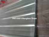 Painel ondulado translúcido da telhadura da fibra de vidro da fibra de vidro de FRP/GRP