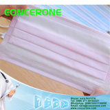 N95 3ply Disposable Nonwoven Flat Face Mask mit Tie ein