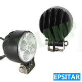 12W 4pol LED da lâmpada de trabalho automático exterior da luz de trabalho