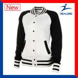 販売のためのHealong中国ODMサービス服装の人の冬の野球のジャケット