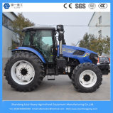 155HP 4WD agrícola/granja/el recorrer/césped/alimentador compacto con la condición de la cabina y del aire