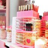 L'organisateur de maquillage en acrylique/ boîte de maquillage/ Bijoux & cosmétique des boîtes d'affichage de stockage