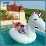 Раздувной гигантский поплавок бассеина единорога для игрушки пляжа
