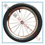 16 Zoll-aufblasbare Gummirad-Karren-Räder, Speiche-Felgen-Rad-Spaziergänger-Räder, Eiscreme