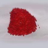Rote Farben-Glasraupen für Dekoration
