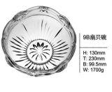 Ciotola di vetro della frutta pura con la buona cristalleria Sdy-F00381 di prezzi