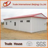 Здание светлой панели сандвича стальной рамки передвижное/модульное/полуфабрикат/Prefab дом семьи лагеря