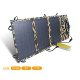 11W semi flexible Sun Power Chargeur portatif de bord
