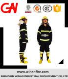 Combinaison de lutte anti-incendie anti-chaleur, y compris le casque Bottes Gants Ceinture
