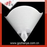 Weißes Wegwerfpapierlack-Grobfilter für Auto arbeiten nach