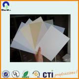 Film blanc abat-jour de PVC rigide