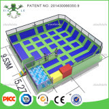CE Approved High Quality Outdoor Gymnastic Trampoline Park with Factory Price
