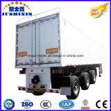 Коробки формы фургонов несущей груза/угля Tri-Axles цены по прейскуранту завода-изготовителя трейлер Enclosed общего назначения для сбывания