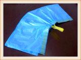 Sacchetto di immondizia laterale materiale del rinforzo dell'HDPE su rullo
