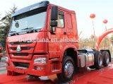 2017년 중국 새로운 Sinotruk HOWO 6X4 트랙터 트럭