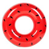Pvc of TPU Inflatable Watermelon Swim Ring