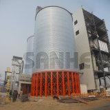 Silo galvanizado quente do aço do armazenamento da grão