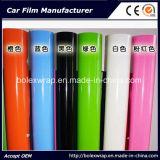 Zelfklevende Vinyl Glanzende Kleuren Ccar die VinylFilm, Film van de Sticker van de Auto van de Omslag van de Auto de Matte Vinyl verpakken