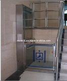 O uso de cadeira hidráulica plataforma residencial vertical para venda