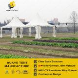 Hohes emporgeragtes Gazebo-Pagode-Zelt für im Freiengarten-Ereignisse (hy004G)