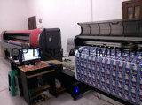 Изготовленный на заказ напольное знамя печатание винила гибкого трубопровода PVC