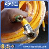 Tuyau de pulvérisation à haute pression en PVC / tuyau d'air / tuyau de gaz