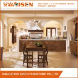 Gabinete de cozinha de madeira padrão americano padrão personalizado