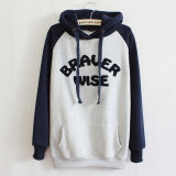 Fleece 테리 (F117)의 주문 Cotton Embroidery Hoodies Sweatshirt