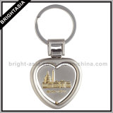 Promotion Gift (BYH-10253)를 위한 회전시키는 Zinc Alloy Key Ring